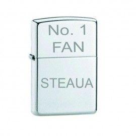 Bricheta argintie gravata No.1 FAN Steaua