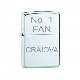 Bricheta argintie gravata No.1 FAN Craiova
