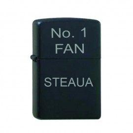 Bricheta neagra gravata No.1 FAN Steaua