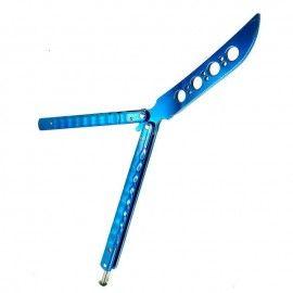 Cutit antrenament cercuri, fara  tais,albastru, dalimag, 30 cm