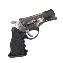 Bricheta antivant lanterna pistol metal, Dalimag, 13 cm