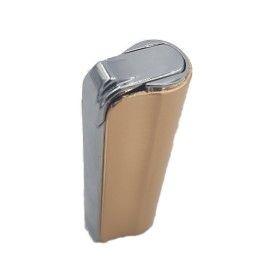 Bricheta metalica antivant reincarcabila, Dalimag, 75 mm, auriu