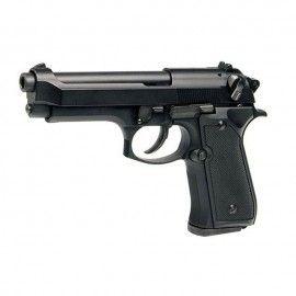 Bricheta pistol anti-vant tip revolver, Beretta,  negru, 14 cm