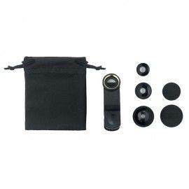 Set lentile telefon 3 in 1 macros si fish eye 180 Samsung Iphone Huawei