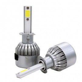 Kit 2 becuri halogen  LED auto H4 36w 3800 lumeni 6000k C6 12-24v
