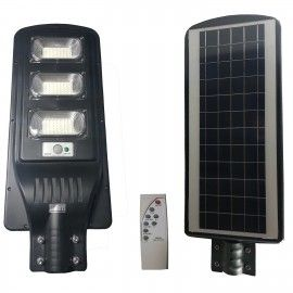 Panou solar stradal, Integrated Lamp, 90 W, IP65, 120 x LED, telecomanda,  senzor miscare/lumina