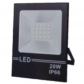 Proiector Led Flood Light, 20W, 20 led, A++, IP66,  lumina alba