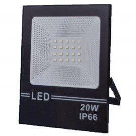 Proiector Led Flood Light, 20W, 20 led, A++, IP66,  lumina alba