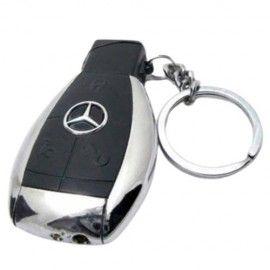Bricheta cu gaz, antivant, breloc chei auto Mercedes-Benz, cutie, neagra