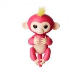 Maimutica haioasa, happy monkey, roz, interactiva