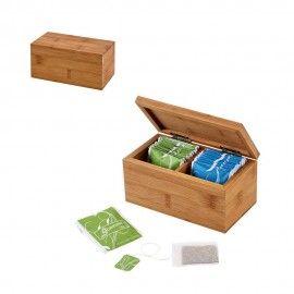 BURDOCK. Cutie de ceai din bambus