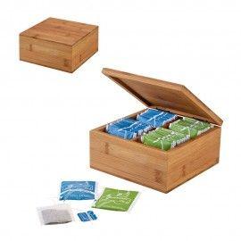 ARNICA. Cutie de ceai din bambus