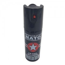 Spray piper paralizant, iritant, lacrimogen, negru, 60 ml