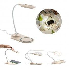 OZZEL. Lampa de masă cu încărcător wireless (Fast  10W)